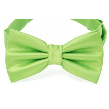 Lime Green Mens Bow Tie
