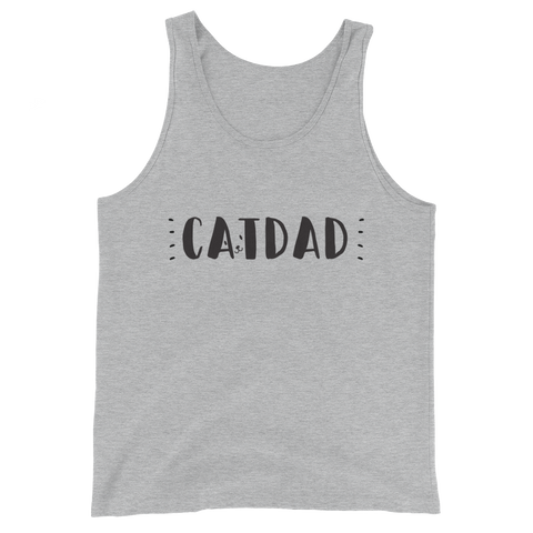 """Cat Dad"" Tank Top"