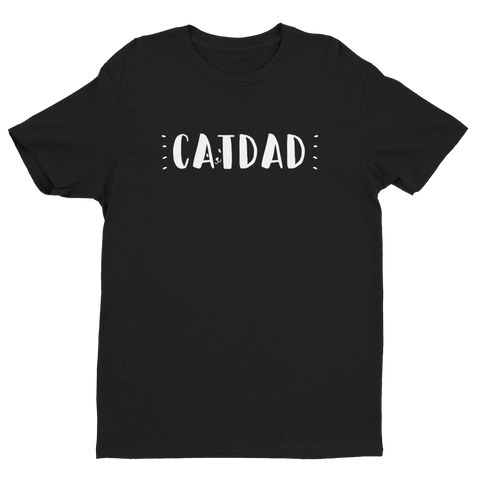 "Short sleeve men's ""Cat Dad"" t-shirt"