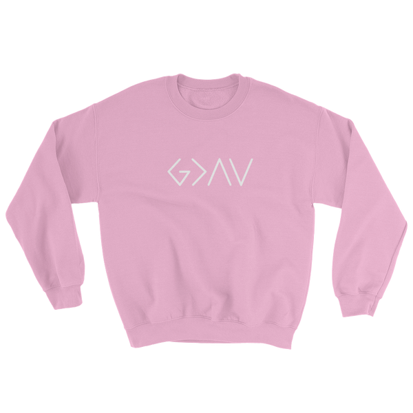"""God is Greater than the Highs and Lows"" Sweatshirt"