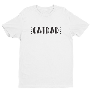 "Short sleeve men's""Cat Dad"" t-shirt"