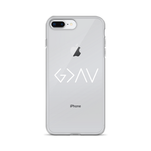 """God is Greater than the Highs and Lows"" iPhone Case"