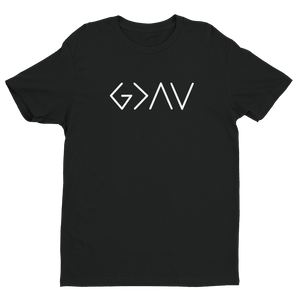 "Men's ""God is Greater Than The Highs and Lows"" Short sleeve t-shirt"