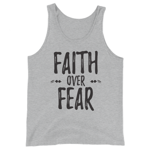 "Unisex ""Faith Over Fear"" Tank Top"