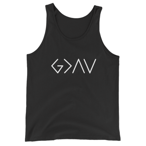 """God is Greater than the Highs and Lows"" Tank Top"