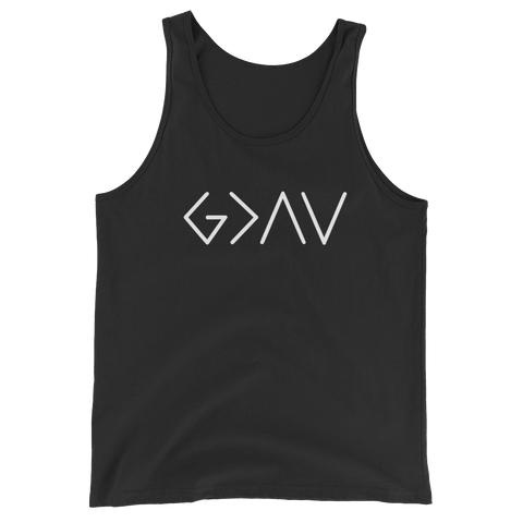 "Men's ""God Is Great Than The Highs And Lows"" Tank Top"