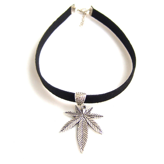 Silver Kush Queen Choker - Choker - Medicated Mermaid