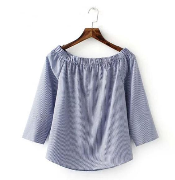 Sunday Blues Top - blouse - Medicated Mermaid