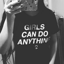 Girls Can Do Anything Tee - Tee - Medicated Mermaid