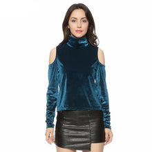 Velvet Shimmer Turtleneck - Turtleneck - Medicated Mermaid