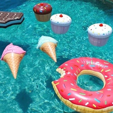 Inflatable Ice Cream Cones - floaty - Medicated Mermaid