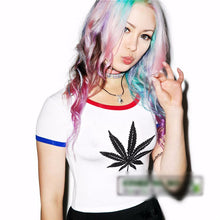 Harajuku Kush Crop Tee - Tee - Medicated Mermaid