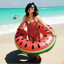Inflatable Watermelon Ring - floaty - Medicated Mermaid