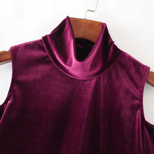 Velvet Shimmer Turtleneck