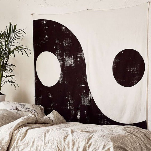 The Yin & Yang Tapestry - tapestry - Medicated Mermaid