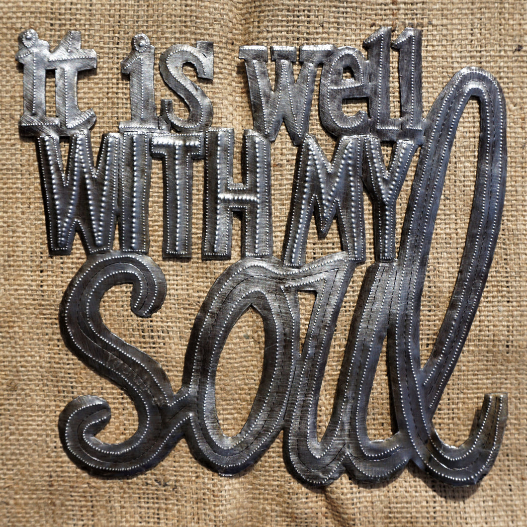 it is well with my soul - 11.5