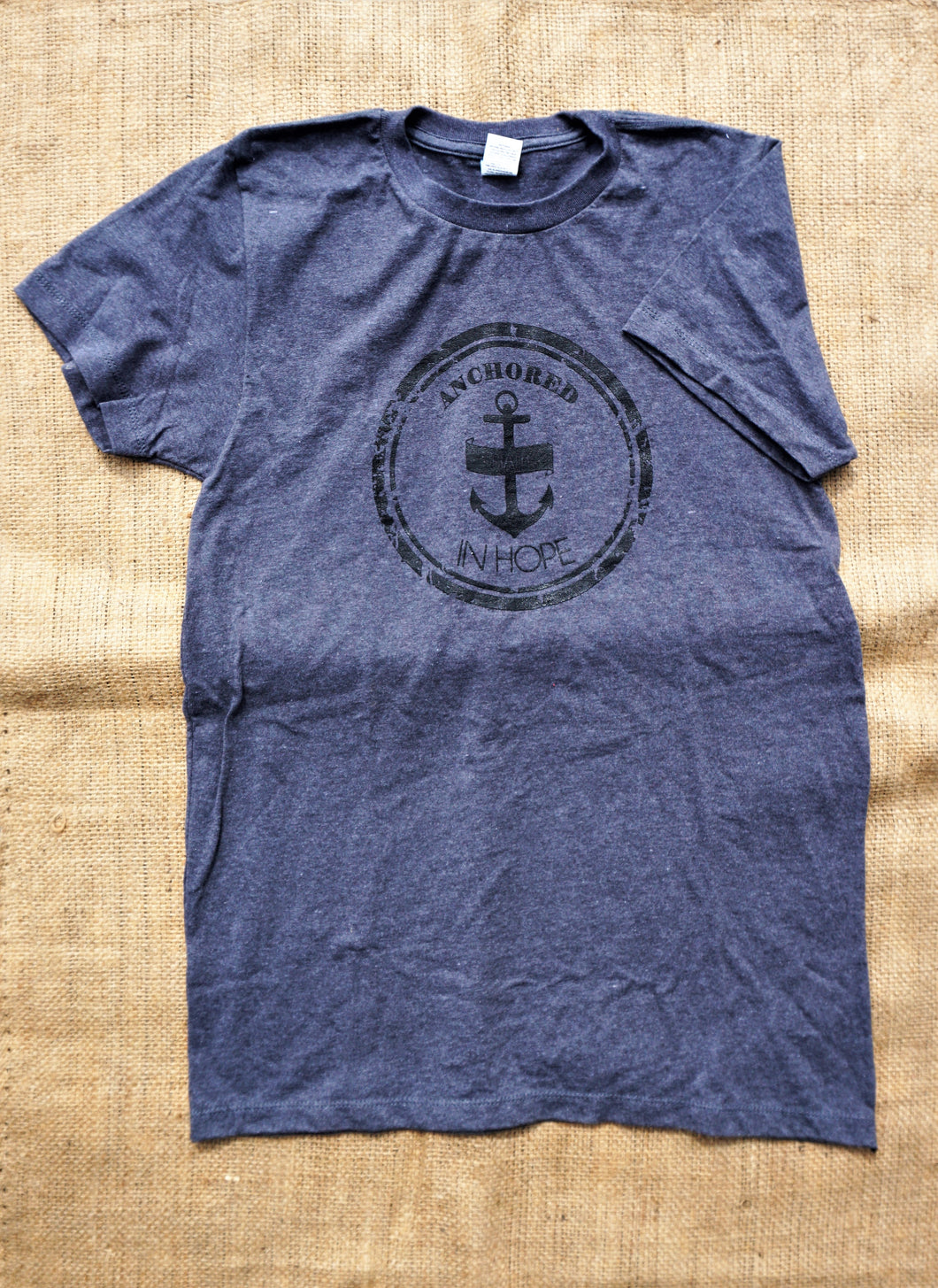 Unisex Short Sleeve T-shirt (Dark Grey)