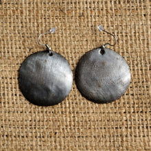 Metal Art Earrings - 1.5""