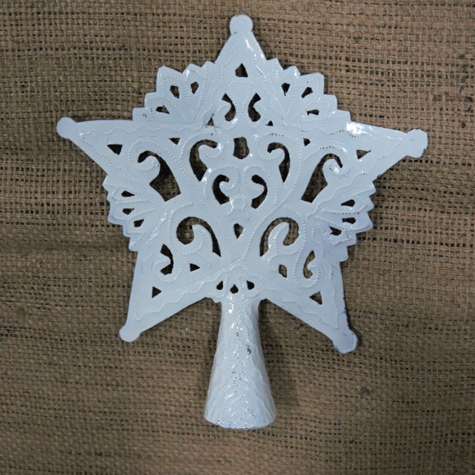 Tree Topper (white star) - 9