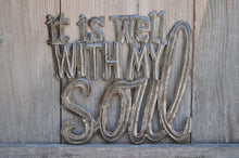 "it is well with my soul - 11.5""x12.5"""