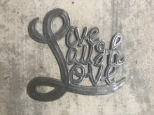 "Live Laugh Love - 10""x11"""