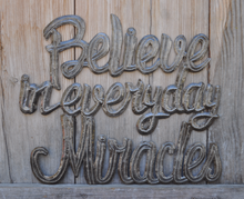 "Believe in Everyday Miracles - 15""x18"""