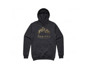 Image of SIMMS Men's Trout Riparian Camo Hoody - Charcoal Heather