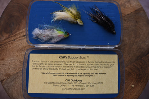 Image of Cliff's Bugger Barn Fly Box