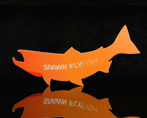 Image of Spawn Fish Logo Sticker