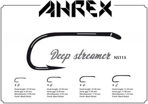 NS115 Nordic Salt Deep Streamer Hook