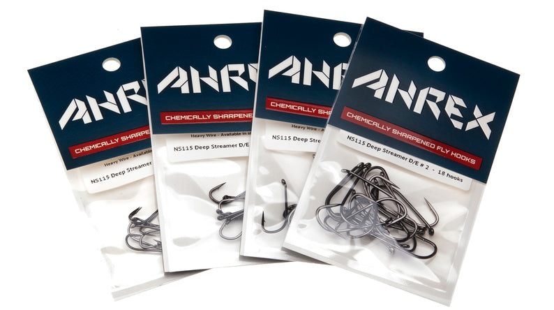 Ahrex NS115 Nordic Salt Deep Streamer Hook