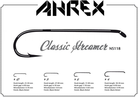 Image of NS118 Nordic Salt Classic Streamer Hook
