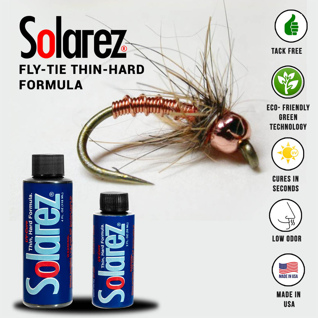 Solarez Fly-Tie Thin Hard Formula