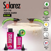 Image of Solarez Fly-Tie Thick Hard Formula - Glow In The Dark