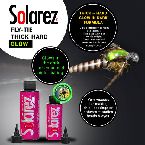 Solarez Fly-Tie Thick Hard Formula - Glow In The Dark