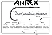 Image of Ahrex TP610 Trout Predator Streamer Hook