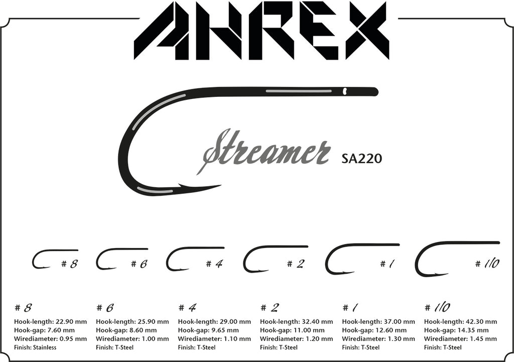 Ahrex SA220 Saltwater Streamer Hook