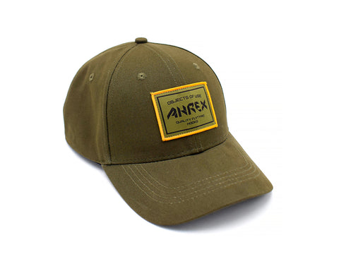 Image of Ahrex Woven Patch Cap - Loden
