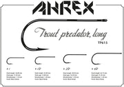 Image of Ahrex TP615 Trout Predator Streamer Long Hook