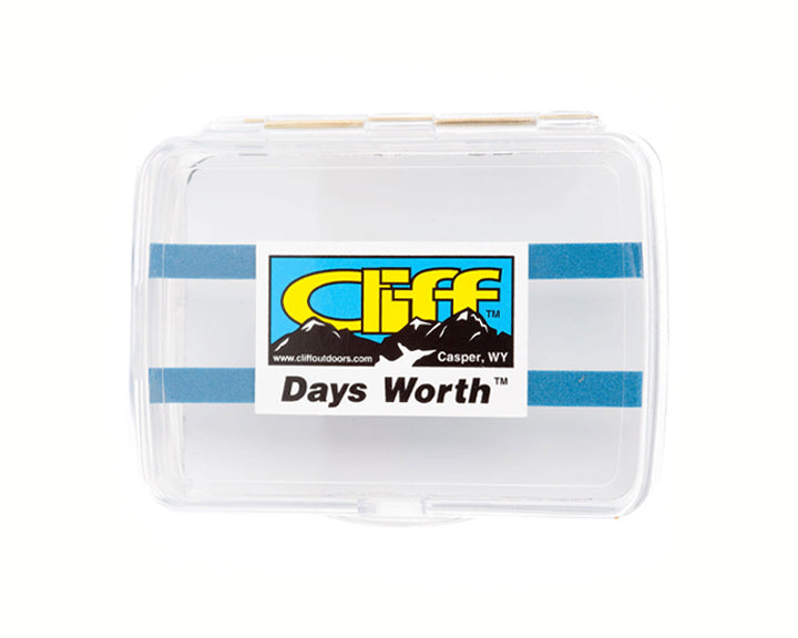 Cliff's The Days Worth Fly Box