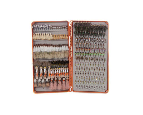 Image of Fishpond Tacky Double Haul Fly Box - Burnt Orange
