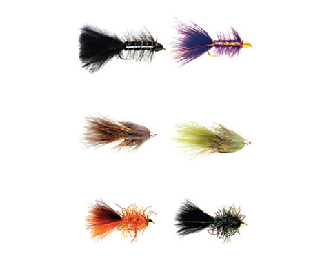 Fulling Mill New Age Bugger Fly Selection