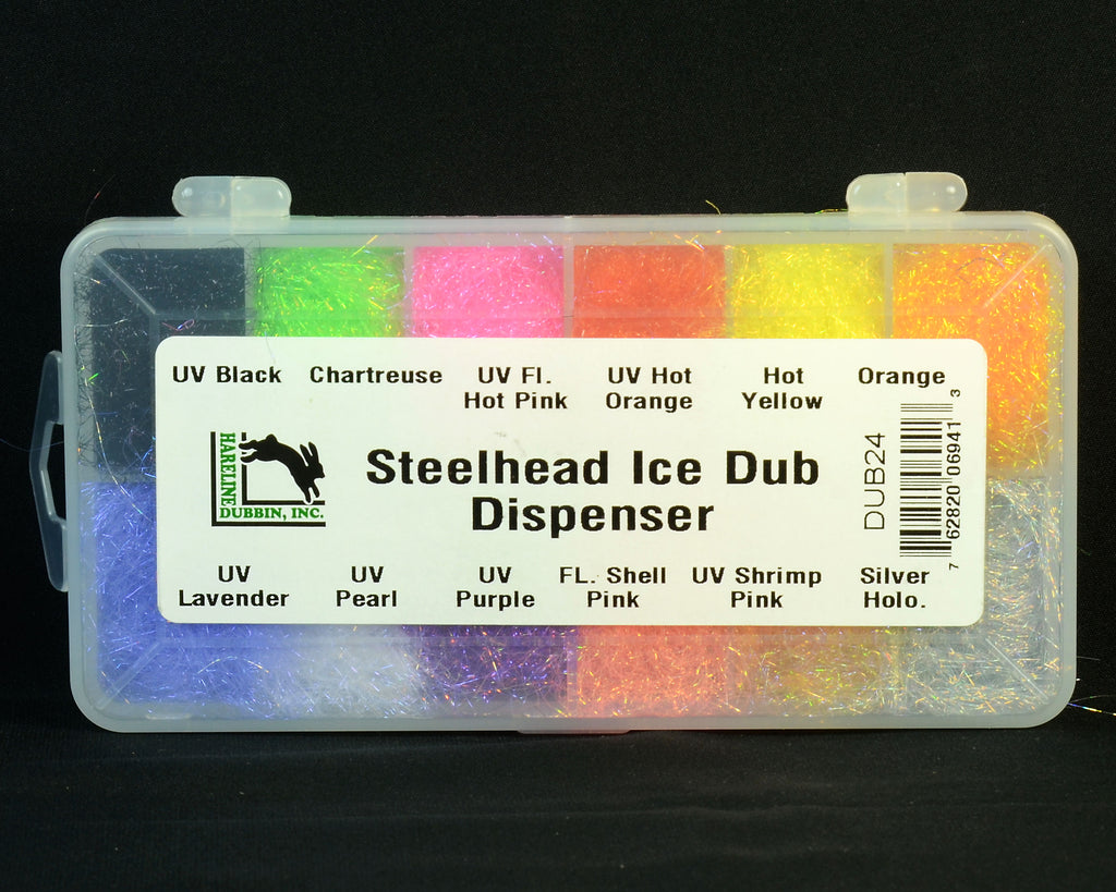 Hareline Steelhead Ice Dub Dispenser