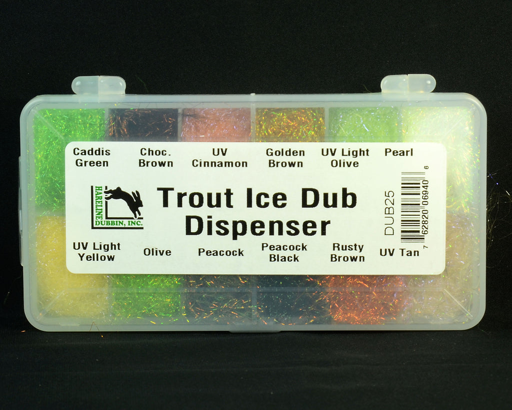 Hareline Trout Ice Dub Dispenser