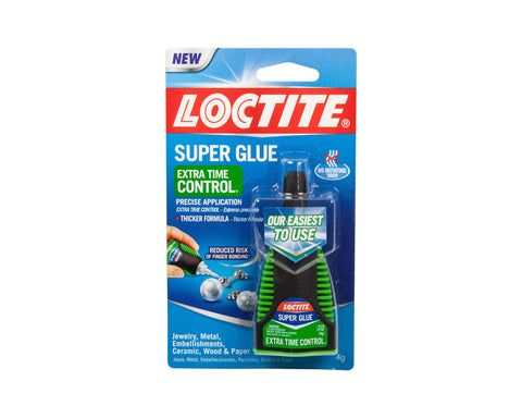 Loctite Super Glue - Extra Time Control