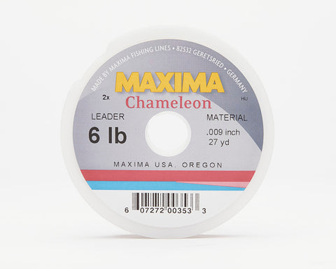 Maxima Chameleon Fishing Line - Leader Wheel