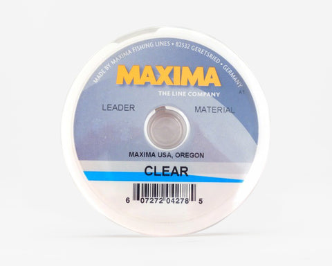 Maxima Clear Fishing Line - Leader Wheel