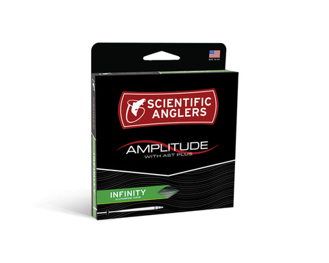 Image of Scientific Anglers Amplitude Infinity Fly Line - Bamboo / Buckskin / Camo