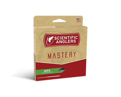 Scientific Anglers Mastery MPX Fly Line - Buckskin / Optic Green