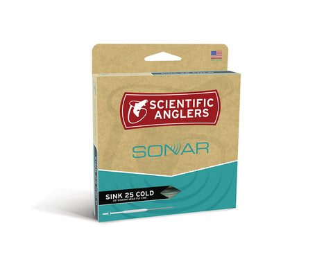 Scientific Anglers Sonar Sink 25 Cold Fly Line - Moss / Charcoal